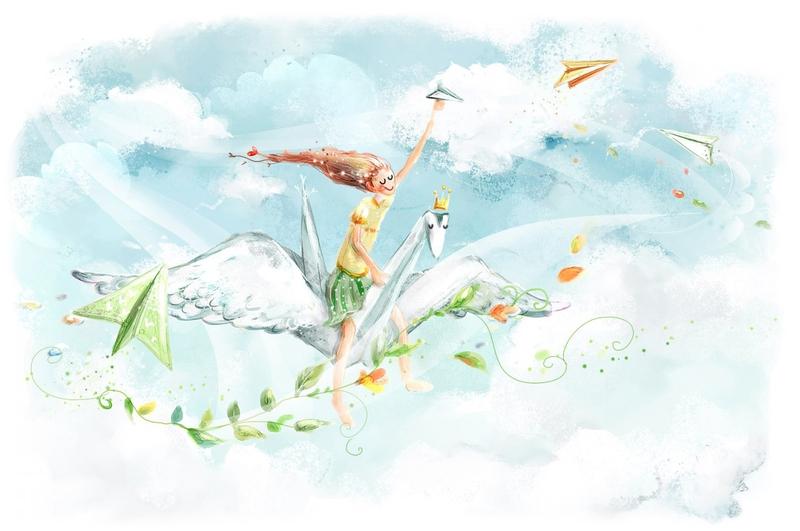 А открытки с голубями все летят ко мне из детства